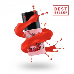 C500 HIGH COLOUR Lakier Hybrydowy RED HIGH HEELS 9ml